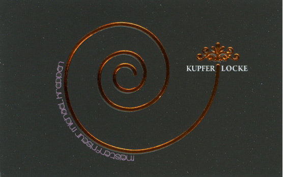Yonkinya Kupfer Prägung